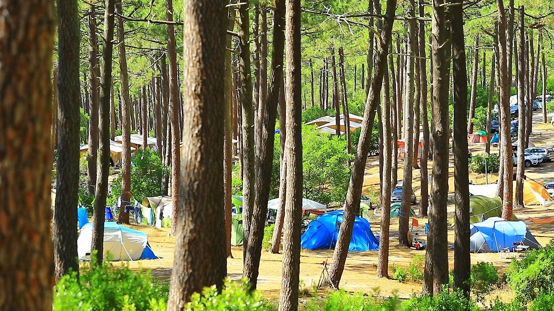 Outdoor camping resorts milf